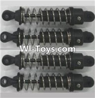 Wltoys A323 Parts-Shock absorber assembly(4pcs)-Long-A303-40 ,1/12 Wltoys A323 RC Car Spare Parts Replacement Accessories