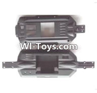 Wltoys A323 Parts-Car bottom frame unit-A303-04,1/12 Wltoys A323 RC Car Spare Parts Replacement Accessories
