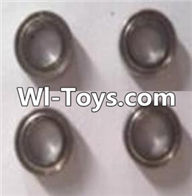 Wltoys A323 Parts-Ball bearing( 4X7X2.5mm)-4pcs,1/12 Wltoys A323 RC Car Spare Parts Replacement Accessories