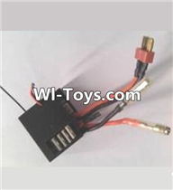 Wltoys A323 Parts-Three-in-one Circuit board,Receiver board,1/12 Wltoys A323 RC Car Spare Parts Replacement Accessories