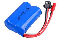 Wltoys A323 Parts-Battery Packs,6.4V 750MAH 15C BATTERY with JST Plug(53X37X19MM)-1pcs,1/12 Wltoys A323 RC Car Spare Parts Replacement Accessories