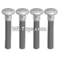 Wltoys A323 Parts-Half tooth cross head screws(M2.5X15)-4pcs,1/12 Wltoys A323 RC Car Spare Parts Replacement Accessories