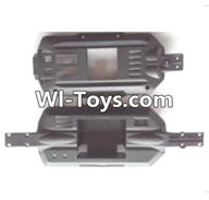Wltoys A333 Parts-Car bottom frame unit,1/12 Wltoys A333 RC Car Spare Parts Replacement Accessories