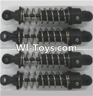 Wltoys A333 Parts-Shock absorber assembly(4pcs)-Medium-A323-01 ,1/12 Wltoys A333 RC Car Spare Parts Replacement Accessories