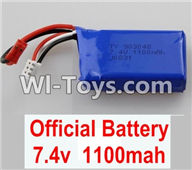 Wltoys A949 Parts-Battery Packs,7.4v 1100mah battery,Wltoys A949 RC Car Parts ,Wltoys 1/18 rc Truck and rc racing car Replace Parts