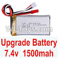 Wltoys A949 Parts-Upgrade Battery Pack,Upgrade 1500mah battery,Wltoys A949 RC Car Parts ,Wltoys 1/18 rc Truck and rc racing car Replace Parts