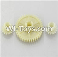 Wltoys A949 Parts-Reduction gear with 2 small gear,Wltoys A949 RC Car Parts ,Wltoys 1/18 rc Truck and rc racing car Replace Parts