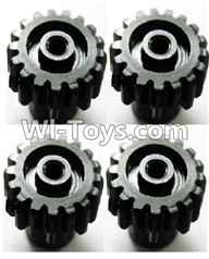 Wltoys A949 Parts-Upgrade motor Gear(4pcs)-0.7 Modulus-Black,Wltoys A949 RC Car Parts ,Wltoys 1/18 rc Truck and rc racing car Replace Parts