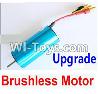 Wltoys A949 Parts-Upgrade Brushless motor,Wltoys A949 RC Car Parts ,Wltoys 1/18 rc Truck and rc racing car Replace Parts