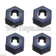 Wltoys A949 Parts-Hexagonal round seat(4pcs),Wltoys A949 RC Car Parts ,Wltoys 1/18 rc Truck and rc racing car Replace Parts