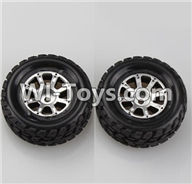 Wltoys A949 Parts-Left Wheel(2pcs),Wltoys A949 RC Car Parts ,Wltoys 1/18 rc Truck and rc racing car Replace Parts