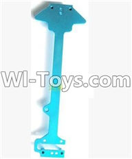 Wltoys A949 Parts-Upgrade Metal Floor plate-Blue,Wltoys A949 RC Car Parts ,Wltoys 1/18 rc Truck and rc racing car Replace Parts