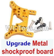 Wltoys A949 Parts-Upgrade Metal shockproof board-Gold,Wltoys A949 RC Car Parts ,Wltoys 1/18 rc Truck and rc racing car Replace Parts