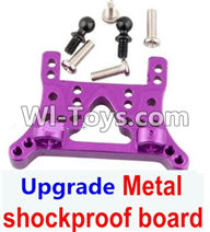 Wltoys A949 Parts-Upgrade Metal shockproof board-Purple,Wltoys A949 RC Car Parts ,Wltoys 1/18 rc Truck and rc racing car Replace Parts