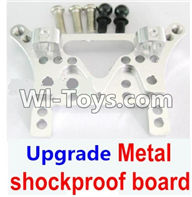 Wltoys A949 Parts-Upgrade Metal shockproof board-Silver,Wltoys A949 RC Car Parts ,Wltoys 1/18 rc Truck and rc racing car Replace Parts