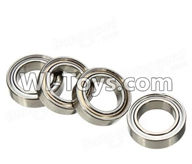 Wltoys A949 Parts-Ball Bearing(4Pcs)-8mmX12mmX3.5mm,Wltoys A949 RC Car Parts ,Wltoys 1/18 rc Truck and rc racing car Replace Parts