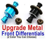 Wltoys A959B A959-B Upgrade Parts Upgrade Metal Front Differentials,Can be used for A959 A959B A959-B