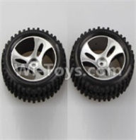Wltoys A959B A959-B Parts Wheel-Official Left Wheel(2pcs) Parts