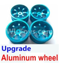 Wltoys A959B A959-B Upgrade Parts Upgrade Aluminum wheel(4pcs-Not include the Tire leather) Parts