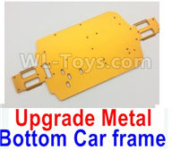 Wltoys A959B A959-B Upgrade Parts Upgrade Metal Bottom Car frame,Upgrade Metal Baseboard-Yellow