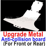 Wltoys A959B A959-B Upgrade Parts Upgrade Metal Front or Rear Anti-collision board