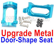 Wltoys A959B A959-B Upgrade Parts Upgrade Metal Door-Shape Seat(2pcs)-Blue