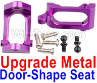 Wltoys A959B A959-B Upgrade Parts Upgrade Metal Door-Shape Seat(2pcs)-Purple