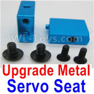 Wltoys A959B A959-B Upgrade Parts Upgrade Metal Servo Seat-Blue