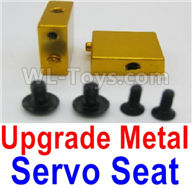 Wltoys A959B A959-B Upgrade Parts Upgrade Metal Servo Seat-Yellow