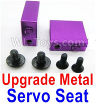 Wltoys A959B A959-B Upgrade Parts Upgrade Metal Servo Seat-Purple