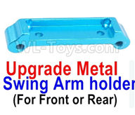 Wltoys A959B A959-B Upgrade Parts Upgrade Metal Swing Arm holder(For Front or Rear)-Blue