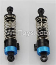 Wltoys A959B A959-B Parts Rear Shock Absorber(2pcs)-Blue-Official