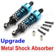 Wltoys A959B A959-B Upgrade Parts Upgrade Metal Shock Absorber(2pcs)-Blue