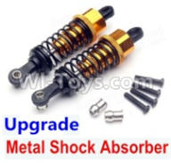 Wltoys A959B A959-B Upgrade Parts Upgrade Metal Shock Absorber(2pcs)-Yellow