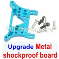 Wltoys A959B A959-B Upgrade Parts Upgrade Metal Front or Rear shockproof board-Blue
