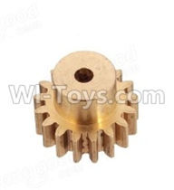 Wltoys A959B A959-B Parts Copper motor Gear(1pcs)-0.7 Modulus-27 Teeth Parts