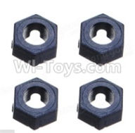 Wltoys A959B A959-B Parts Hexagonal round seat(4pcs)-A949-11 Official