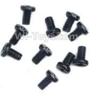Wltoys A959B A959-B Parts Countersunk head-M2X6(10PCS) Parts