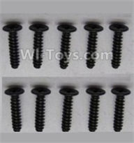 Wltoys A959-B-26 screws Parts-Round head screws-M2.5X10(10PCS) Parts
