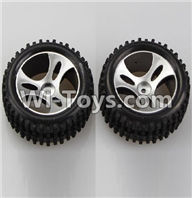 Wltoys A959 Left Wheel(2pcs) Parts-Official,Wltoys A959 Parts,(Both for A959 A959B)