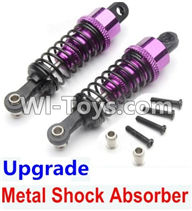 Wltoys A959 Upgrade Metal Shock Absorber(2pcs)-Purple Parts,Wltoys A959 Parts,(Both for A959 A959B)