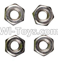 Wltoys A959 M3 Anti-loose Screw nut(4pcs) Parts,Wltoys A959 Parts,(Both for A959 A959B)