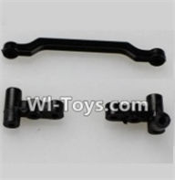 Wltoys A969-B Parts-A949-08 Plastic Steering seat(Total 3pcs) For Wltoys A969-B Rc Car Parts,High speed 1:18 Scale 4wd,2.4G A969-B rc racing car Parts,On Road Drift Racing Truck Car Parts