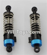 Wltoys A969-B Parts-Front Shock Absorber(2pcs)-Blue For Wltoys A969-B Rc Car Parts,High speed 1:18 Scale 4wd,2.4G A969-B rc racing car Parts,On Road Drift Racing Truck Car Parts