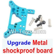 Wltoys A969-B Parts-Upgrade Metal Front or Rear shockproof board-Blue For Wltoys A969-B Rc Car Parts,High speed 1:18 Scale 4wd,2.4G A969-B rc racing car Parts,On Road Drift Racing Truck Car Parts