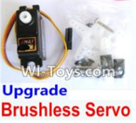 Wltoys A969-B Parts-Upgrade Servo for the Upgrade brushless set For Wltoys A969-B Rc Car Parts,High speed 1:18 Scale 4wd,2.4G A969-B rc racing car Parts,On Road Drift Racing Truck Car Parts