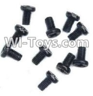 Wltoys A969-B Parts-Countersunk head-M2X6(10PCS) For Wltoys A969-B Rc Car Parts,High speed 1:18 Scale 4wd,2.4G A969-B rc racing car Parts,On Road Drift Racing Truck Car Parts