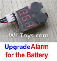 Wltoys A969-B-23-05 Upgrade Alarm for the Battery,Can test whether your battery has enouth power For Wltoys A969-B Rc Car Parts,High speed 1:18 Scale 4wd,2.4G A969-B rc racing car Parts,On Road Drift Racing Truck Car Parts