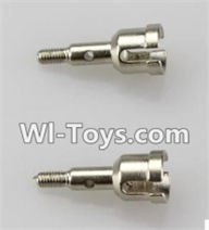 Wltoys A969-B Parts-A949-30 Axle(2pcs)-9X22.1mm For Wltoys A969-B Rc Car Parts,High speed 1:18 Scale 4wd,2.4G A969-B rc racing car Parts,On Road Drift Racing Truck Car Parts