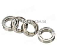 Wltoys A969-B Parts-A949-36 Ball Bearing(4Pcs)-8mmX12mmX3.5mm For Wltoys A969-B Rc Car Parts,High speed 1:18 Scale 4wd,2.4G A969-B rc racing car Parts,On Road Drift Racing Truck Car Parts